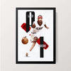 """Allen Iverson"" Wall Decor"