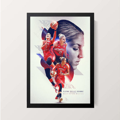 """Elena Delle Donne"" Wall Decor"