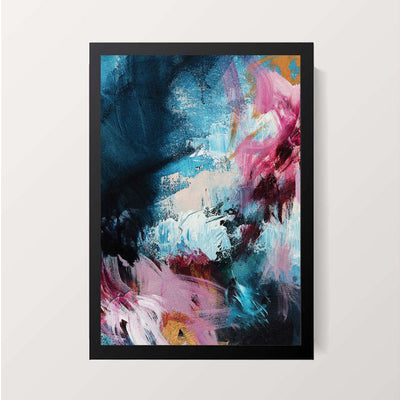 """Serendipity Abstract"" Wall Decor"
