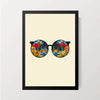 """Colorful Specs"" Wall Decor"