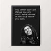 """Being Strong 