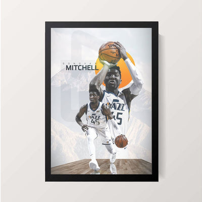 """Donovan Vernell Mitchell Jr."" Wall Decor"