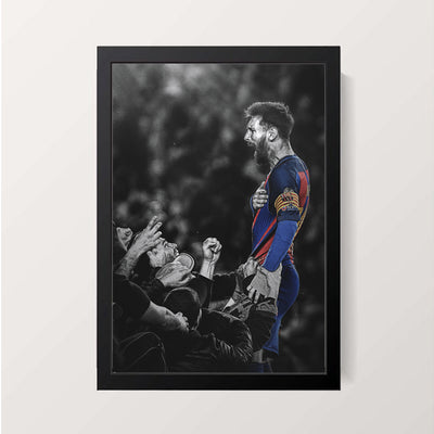 """Lionel Messi: The Messiah"" Wall Decor"