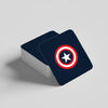 """CAPTAIN AMERICA"" COASTER"