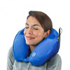 Neck Pillow with Massager and Speakers