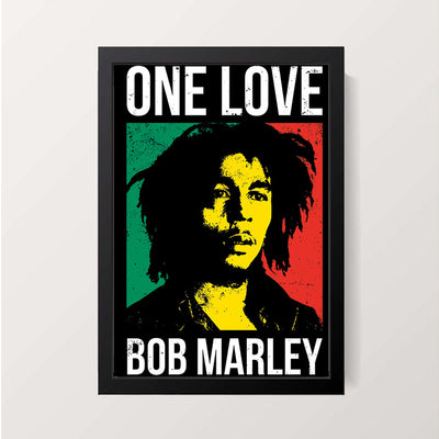 """One Love"" Wall Decor"