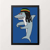 """Reggae Shark"" Wall Decor"