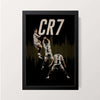 """CR7 Signature Celebration"" Wall Decor"