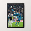"""The Flying Goal Scoring Machine"" Wall Decor"