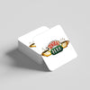 """Central Perk White"" Coaster"