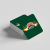"""Central Perk Green"" Coaster"