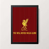 """You'll Never Walk Alone"" Wall Decor"