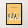 """All You Need Is Love - The Beatles"" Wall Decor"