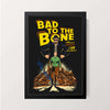 """Bad To The Bone"" Wall Decor"
