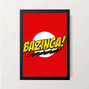"""Bazinga"" Wall Decor"