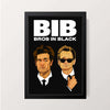 """Bros In Black"" Wall Decor"