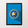 """Cricket BCCI"" Wall Decor"
