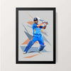 """Dhoni"" Wall Decor"
