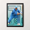 """Dhoni Forever"" Wall Decor"