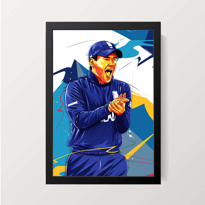 """Eoin Morgan"" Wall Decor"