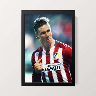 """Fernando Torres"" Wall Decor"