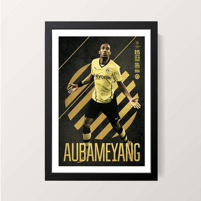 """Aubameyang"" Wall Decor"