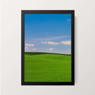 """Green Carpet"" Wall Decor"