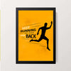 """Keep Running"" Wall Decor"