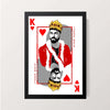 """King Kohli"" Wall Decor"