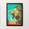 """Lion King"" Wall Decor"
