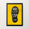 """Make Every Step Count"" Wall Decor"