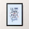 """Melt With You"" Wall Decor"