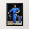 """M S Dhoni - On Field"" Wall Decor"