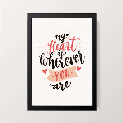 """Wherever You Are"" Wall Decor"
