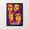 """Narcos - Fanart"" Wall Decor"