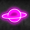 NEO-PLANET NEON SIGNAGE  (45 x 15)cms
