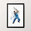 """The Wall - Rahul Dravid"" Wall Decor"