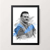 """Ravi Shastri"" Wall Decor"