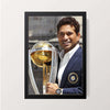 """GOD Of Cricket"" Wall Decor"