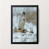 """Snow Owl"" Wall Decor"