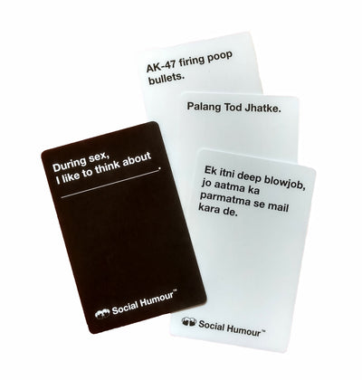 Social Humour Card Game