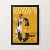 """Stephen Curry"" Wall Decor"