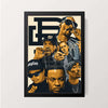 """HIP HOP ASSEMBLE"" Wall Decor"