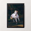 """White Horse"" Wall Decor"