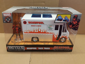 Deadpool Taco Truck 1:18 White