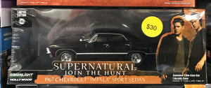 Supernatural 1967 Chevrolet Impala Sport Sedan 1:43