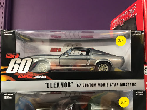 Gone in 60 Seconds Eleanor 1:24