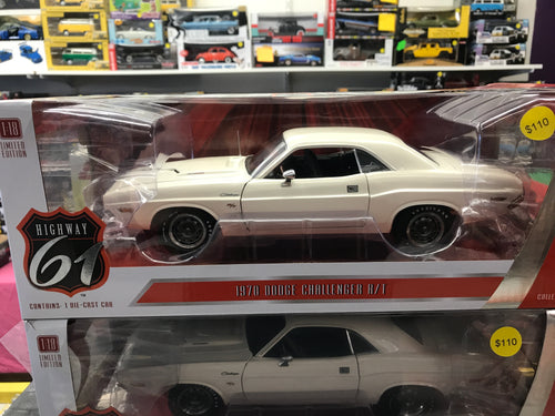 Vanishing Point 1970 Dodge Challenger R/T 1:18