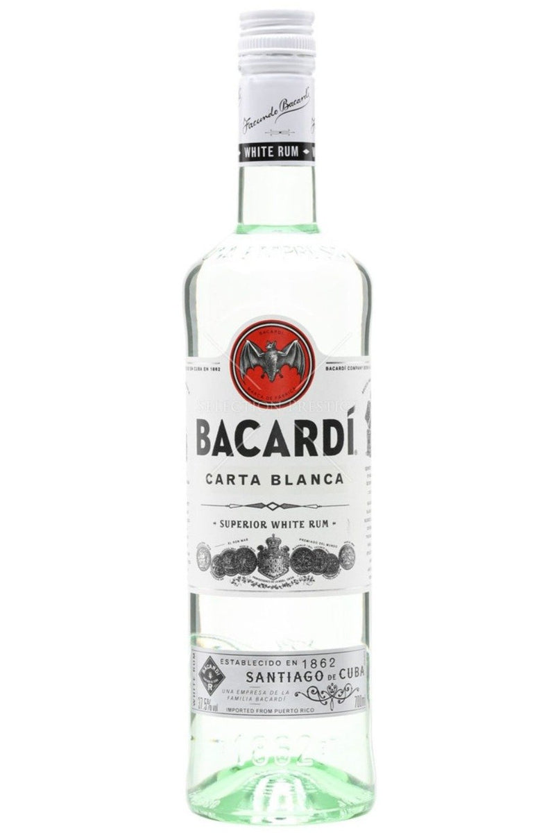 Bacardi Carta Blanca 70cl - Cheers Wine Merchants