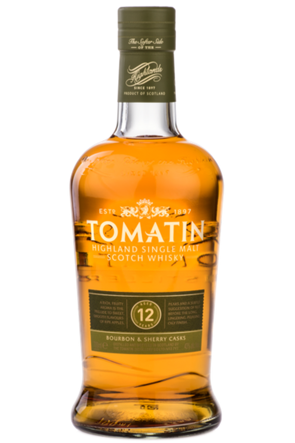 Tomatin 12 Year Old - Cheers Wine Merchants